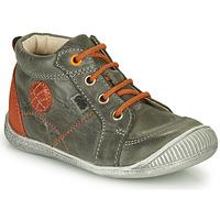 Shoes Boy Mid boots GBB OLAN Grey