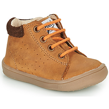 Shoes Boy Mid boots GBB FOLLIO Brown