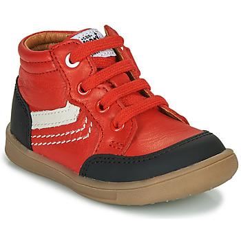Shoes Boy High top trainers GBB VIGO Red