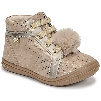 Shoes Girl High top trainers GBB ISAURE Beige