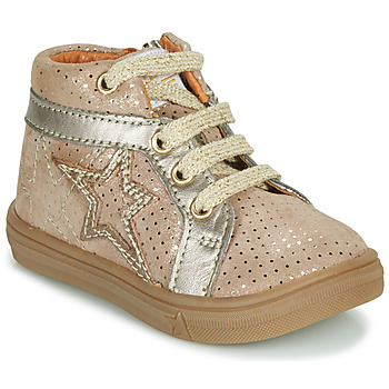 Shoes Girl High top trainers GBB NAVETTE Beige