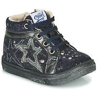 Shoes Girl High top trainers GBB NAVETTE Blue