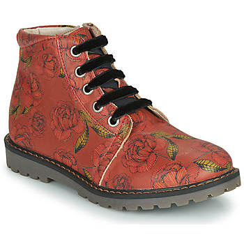 Shoes Girl Mid boots GBB NAREA Red