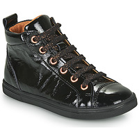 Shoes Girl High top trainers GBB INNA Black
