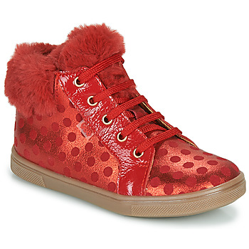 Shoes Girl High top trainers GBB JUNA Red