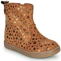 Shoes Girl Mid boots GBB ERNA Cognac