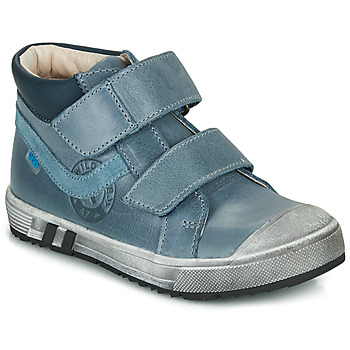 Shoes Boy High top trainers GBB OMALLO Blue