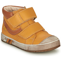 Shoes Boy High top trainers GBB OMALLO Yellow