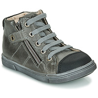 Shoes Boy High top trainers GBB KAMIL Grey