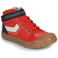 Shoes Boy High top trainers GBB BAO Red
