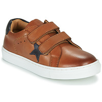 Shoes Boy Low top trainers GBB DANAY Brown