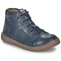 Shoes Boy High top trainers GBB KELIG VTE MARINE DPF/2835