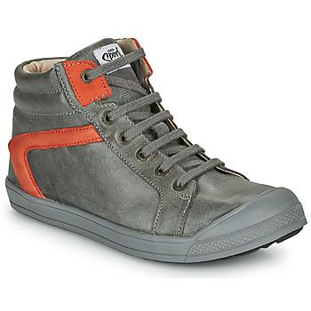 Shoes Boy High top trainers GBB IWEN Grey