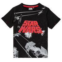 material Boy short-sleeved t-shirts TEAM HEROES STAR WARS Black