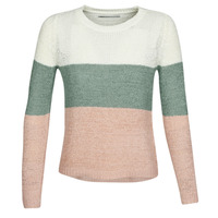 material Women jumpers Only ONLGEENA Beige / Pink