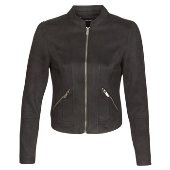 material Women Leather jackets / Imitation le Vero Moda VMSUMMERSIV Black