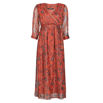 material Women Long Dresses Vero Moda VMGLAMMY Red