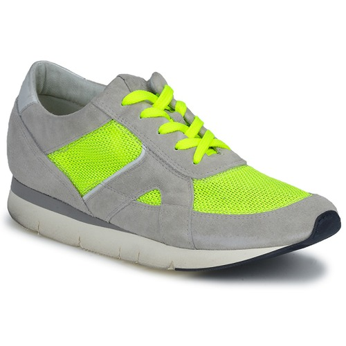 Shoes Women Low top trainers OXS GEORDIE Grey / Yellow