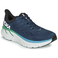 Shoes Men Low top trainers Hoka one one CLIFTON 7 Blue / Green