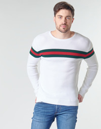 material Men jumpers Casual Attitude MIRANDA White