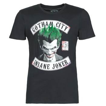 material Men short-sleeved t-shirts Casual Attitude INSANE JOKER Black