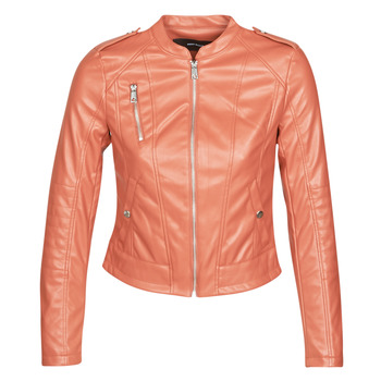 material Women Leather jackets / Imitation le Vero Moda VMAWARDALMA Brick