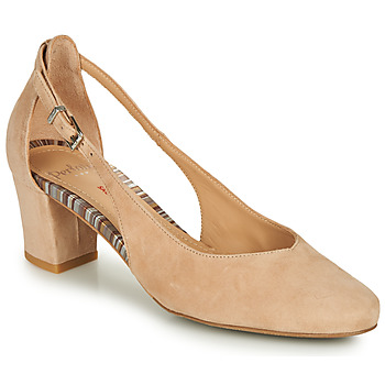 Shoes Women Court shoes Perlato 11459-VELOUR-BAAM-MISIA-STONE Beige