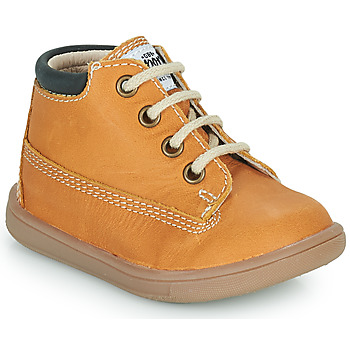 Shoes Boy High top trainers GBB NORMAN Yellow