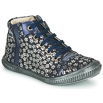 Shoes Girl High top trainers GBB OUNA Blue / Silver