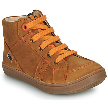 Shoes Boy High top trainers GBB ANGELITO Brown
