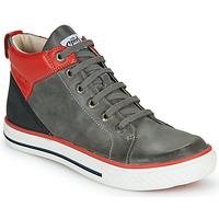 Shoes Boy High top trainers GBB MERINO Grey
