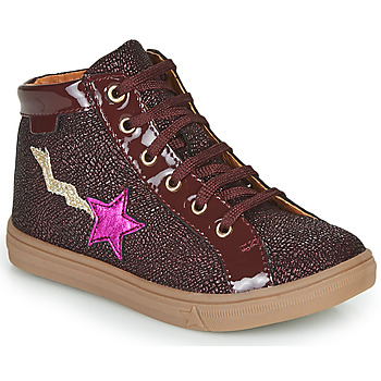 Shoes Girl High top trainers GBB TADEA Bordeaux