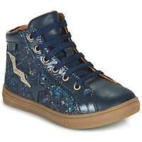 Shoes Girl High top trainers GBB TADEA Blue