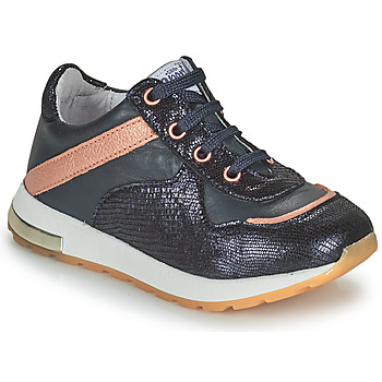 Shoes Girl Low top trainers GBB LELIA Marine / Pink