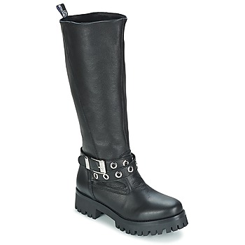 Shoes Women Boots Love Moschino GROGI Black