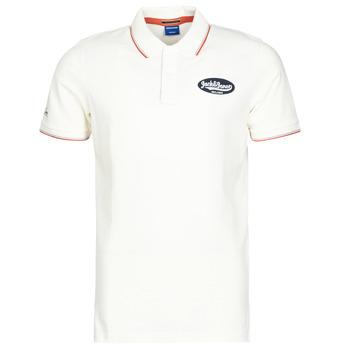 material Men short-sleeved polo shirts Jack & Jones JORAYDON White
