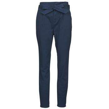 material Women 5-pocket trousers Vero Moda VMEVA Marine