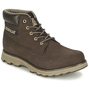 Shoes Men Mid boots Caterpillar FOUNDER Expresso