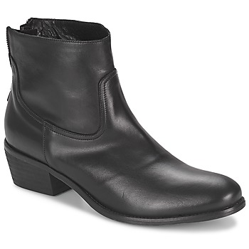 Shoes Women Mid boots Meline SOFMET Black