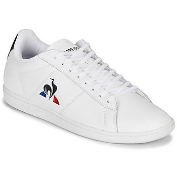 Shoes Men Low top trainers Le Coq Sportif COURTSET White / Marine