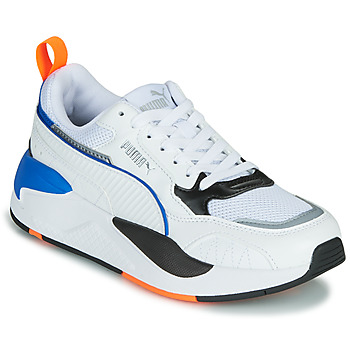 Shoes Children Low top trainers Puma X-RAY White / Blue / Black