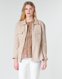 material Women Jackets / Blazers Betty London MOUCHE Beige