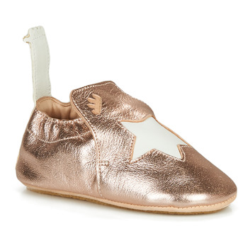 Shoes Girl Slippers Easy Peasy BLUBLU ETOILE Pink / Gold