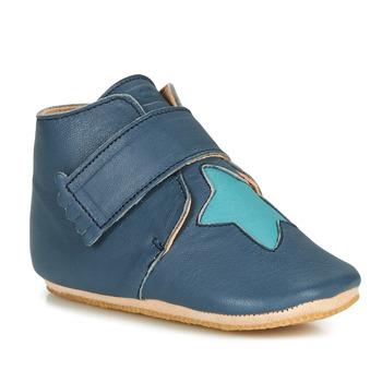 Shoes Children Slippers Easy Peasy KINY ETOILE Blue