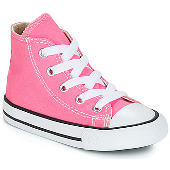 Shoes Girl High top trainers Converse CHUCK TAYLOR ALL STAR CORE HI Pink