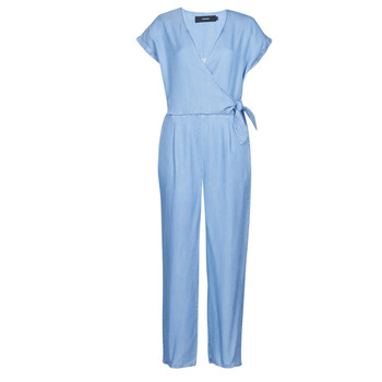 material Women Jumpsuits / Dungarees Vero Moda VMLAURA Blue / Clear