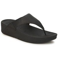 Shoes Women Flip flops FitFlop LULU LEATHER Black