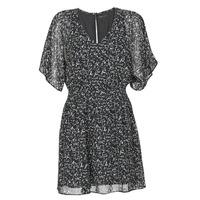 material Women Short Dresses Ikks BR30075 Black