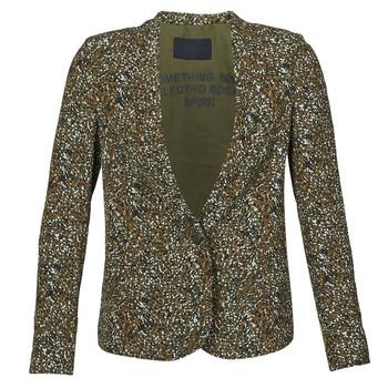 material Women Jackets / Blazers Ikks BR40005 Kaki