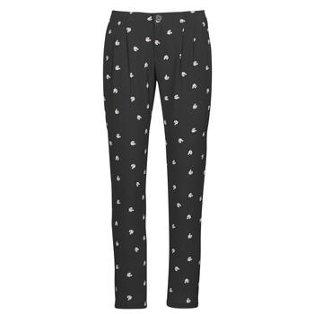 material Women Wide leg / Harem trousers Ikks BR22125 Black